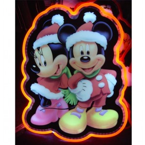 Mickey & Minnie LED Neon-Look Sign