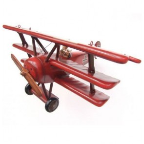 Transport Air Red Baron Airplane Small
