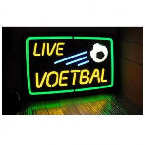 Live Voetbal Neonlook Led