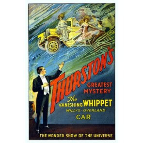 Thurston Vanishing Whippet Magic Poster