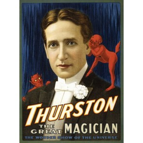 Thurston Magical Show Magician Magic Poster