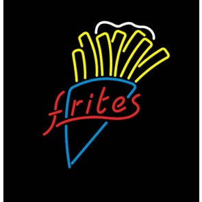 Frites Neon Sign