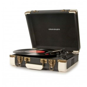 Crosley Executive Portable USB Turntable - Black/White