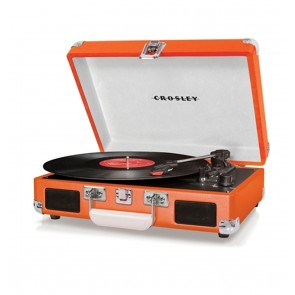Crosley Cruiser 1 Platenspeler Orange Retro