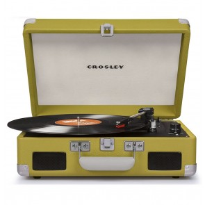 Crosley Cruiser II Portable Platenspeler - Lime