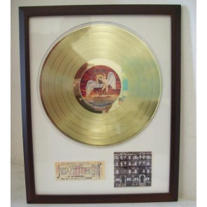 Gouden plaat LP Led Zeppelin - Physical Graffity