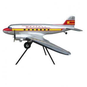 Model Vliegtuig, DC-3 Western Airlines