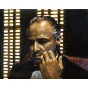 Peter Donkersloot 30 x 30 cm The Godfather Marlon Brando