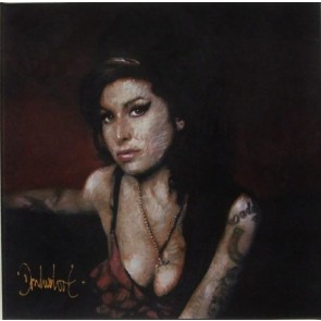 Peter Donkersloot 30 x 30 cm Amy Winehouse