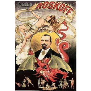 Le Thaumaturge Roskoff Magic Poster