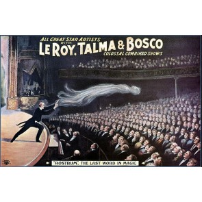 LeRoy Talma Bosco Combined Magic Poster