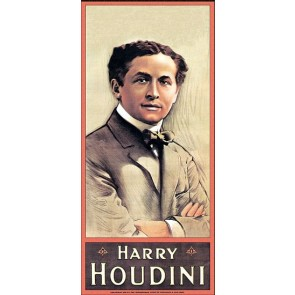 Harry Houdini Magic Poster