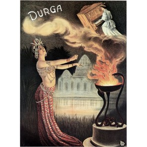 DURGA The Magician Magic Poster
