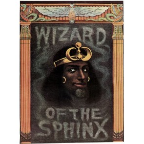 Egyptian Wizard Of The Sphinx Magic Poster