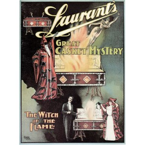 Laurant Witch Of The Flame Magic Poster