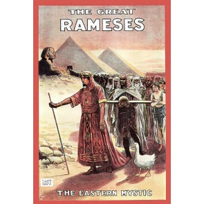 The Great Rameses Eastern Mystic Magic Poster