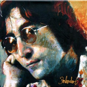 Peter Donkersloot 30 x 30 cm John Lennon The Beatles