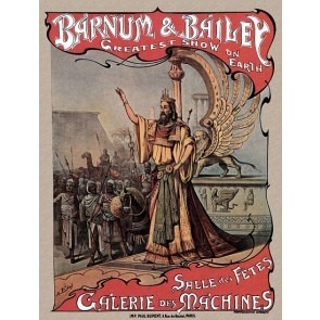 Salle Des Fetes Galerie Des Machines Circus Poster 1of2