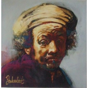 Peter Donkersloot 30 x 30 cm Rembrandt