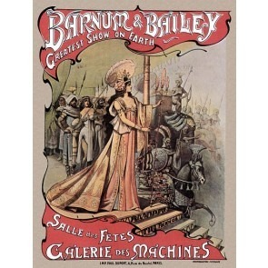 Salle Des Fetes Galerie Des Machines Circus Poster 2of2
