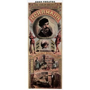 World's Greatest Prestidigitateur Herrmann Magic Poster