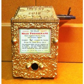 Mills Phonograph Coin Mech by Mills Novelty Co