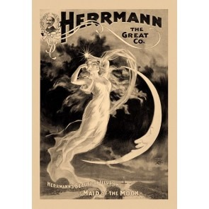 Herrmann The Great Maid Of The Moon Magic Poster