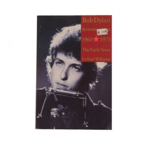 Bob Dylan The Early Years, Boek