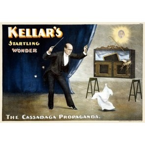 Kellar Cassadaga Propaganda Magic Poster