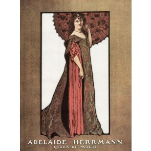 Adelaide Herrmann Queen Of Magic Poster