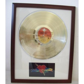 Gouden plaat LP Tom Petty You are gonna get it