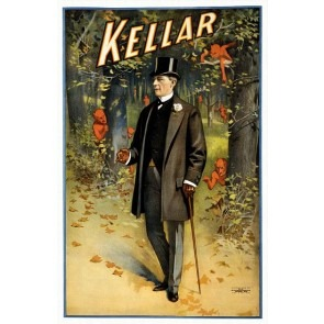 Kellar The Magician Magic Poster
