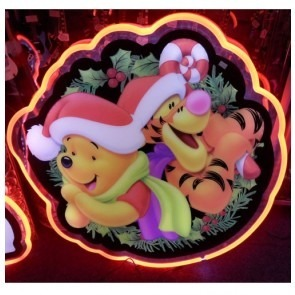 Disney Pooh LED Neon-Look Sign