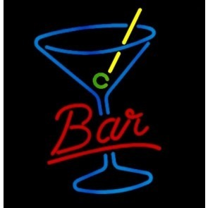 Bar Cocktail Neon Sign