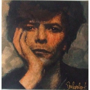 Peter Donkersloot 30 x 30 cm David Bowie