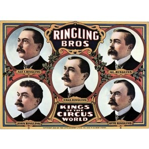 Kings Of The Circus World Ringling Bros Posters
