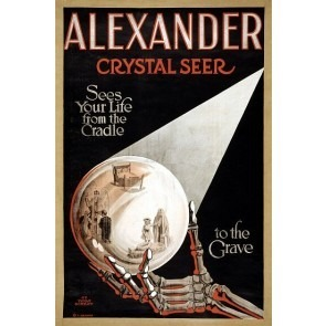 Alexander Crystal Seer Magic Poster