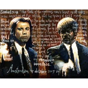 Peter Donkersloot 140 x 120 cm Pulp Fiction