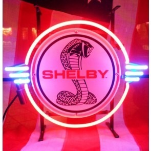Shelby + Sign Neon
